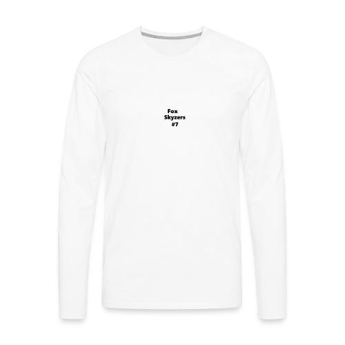 stealfox STUFF BOYS - Men's Premium Long Sleeve T-Shirt