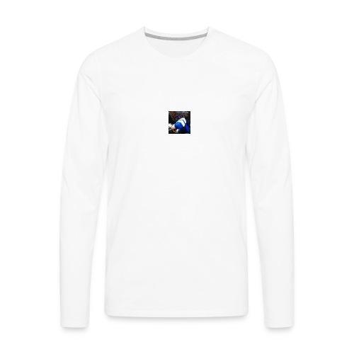 Kangaroo Tv Logo - Men's Premium Long Sleeve T-Shirt