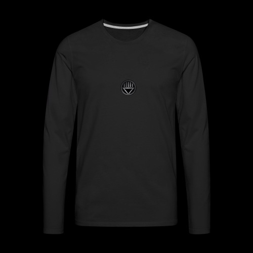 Knight654 Logo - Men's Premium Long Sleeve T-Shirt