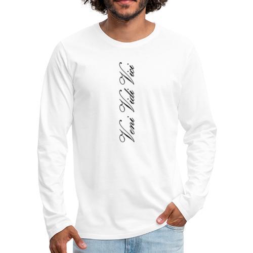 veni vidi vici calli leggins - Men's Premium Long Sleeve T-Shirt