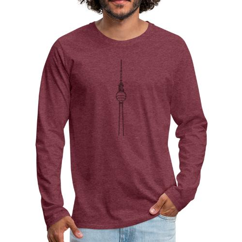 Berlin TV Tower - Men's Premium Long Sleeve T-Shirt