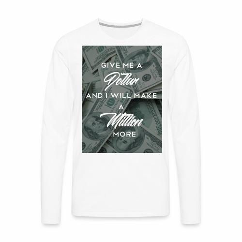 million - Men's Premium Long Sleeve T-Shirt