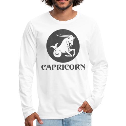 Capricorn Astrological Sign - Men's Premium Long Sleeve T-Shirt