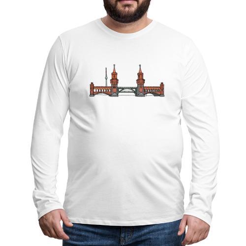 Oberbaum Bridge Berlin - Men's Premium Long Sleeve T-Shirt