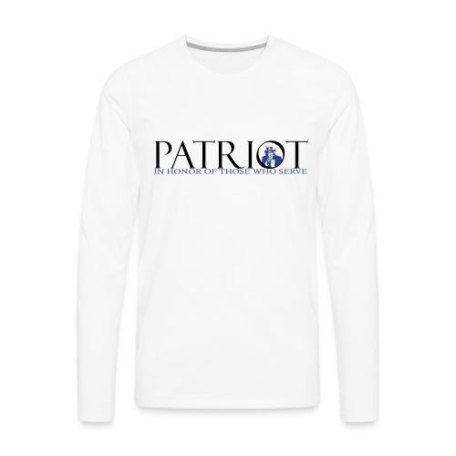 PATRIOT_SAM_USA_LOGO - Men's Premium Long Sleeve T-Shirt