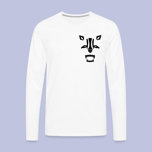 DLB white background - Men's Premium Long Sleeve T-Shirt