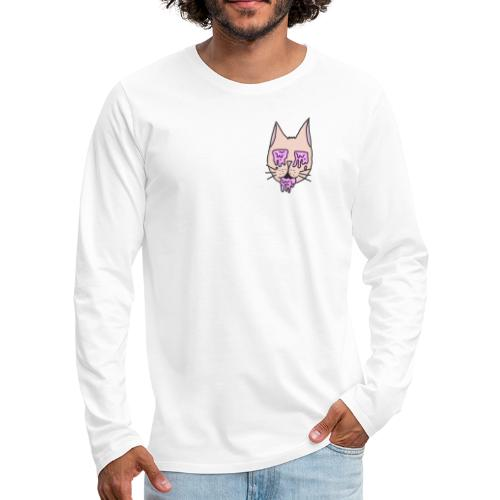Drug Cat - Men's Premium Long Sleeve T-Shirt