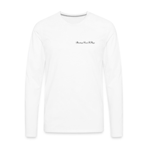 Fancy BlockageDoesAMaps - Men's Premium Long Sleeve T-Shirt