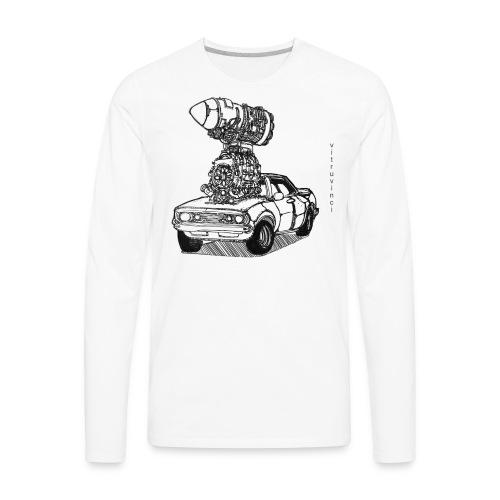 2 Fast 2 Curious - Men's Premium Long Sleeve T-Shirt