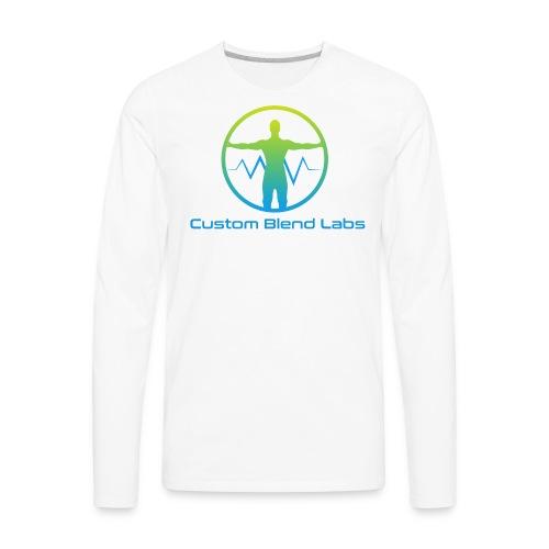 Custom Blend Labs Logo - Men's Premium Long Sleeve T-Shirt