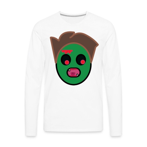 zombie family/ regular apparel - Men's Premium Long Sleeve T-Shirt
