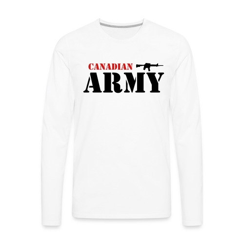Canadian Army - Men's Premium Long Sleeve T-Shirt