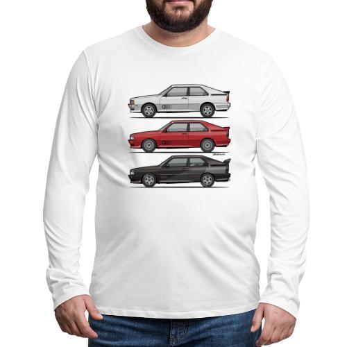 Four rings b2 urqu4ttro t - Men's Premium Long Sleeve T-Shirt