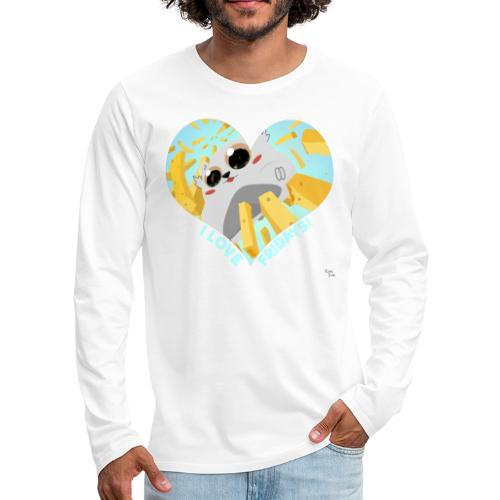 I Love Fridays! - Men's Premium Long Sleeve T-Shirt