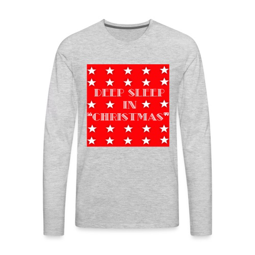 Christmas theme - Men's Premium Long Sleeve T-Shirt