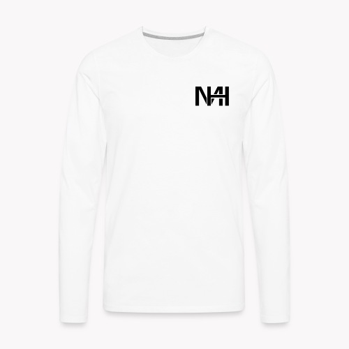 MH (Black) - Men's Premium Long Sleeve T-Shirt