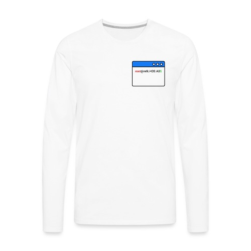 ~/Techniques Informatiques - Men's Premium Long Sleeve T-Shirt