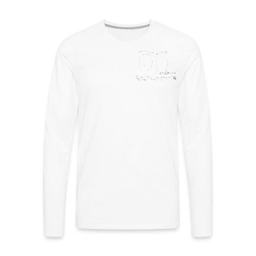 01 rocketpants01 merch - Men's Premium Long Sleeve T-Shirt