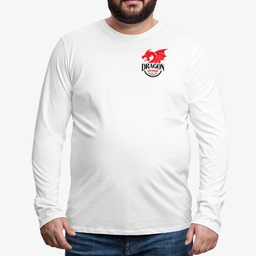 Official Red & Black logo - Men's Premium Long Sleeve T-Shirt