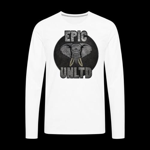 EPIC UNLTD Logo Shirt - Men's Premium Long Sleeve T-Shirt