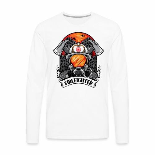 Firefighter - Men's Premium Long Sleeve T-Shirt