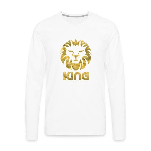 KING - Men's Premium Long Sleeve T-Shirt