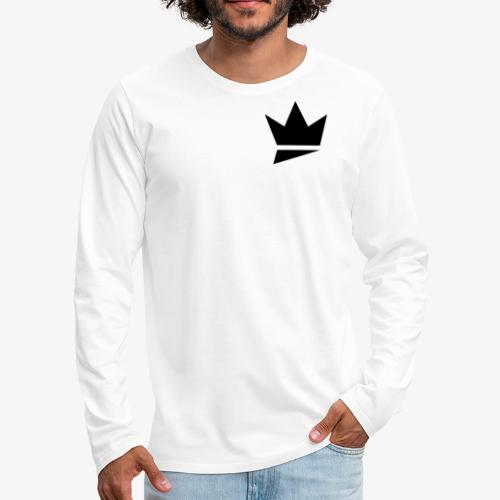 Crown Logo - Men's Premium Long Sleeve T-Shirt