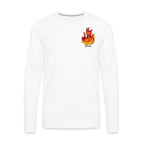 Scorchy Logo Black - Men's Premium Long Sleeve T-Shirt