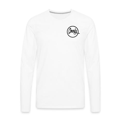 Gnarly Brand Black - Men's Premium Long Sleeve T-Shirt