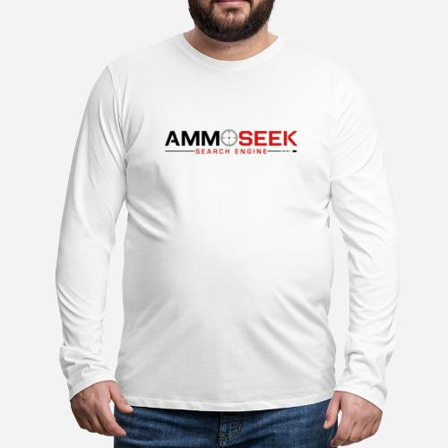 AmmoSeek_PrintLogo_Transp - Men's Premium Long Sleeve T-Shirt