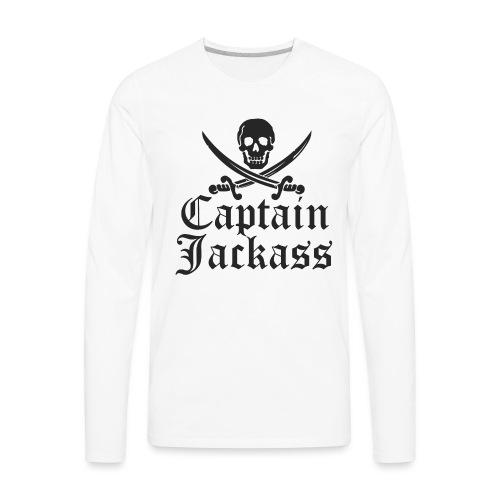 captainjackass - Men's Premium Long Sleeve T-Shirt