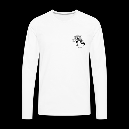 Forest Design - Men's Premium Long Sleeve T-Shirt