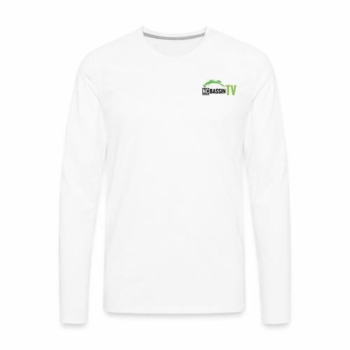 NCBTV LOGO - Men's Premium Long Sleeve T-Shirt
