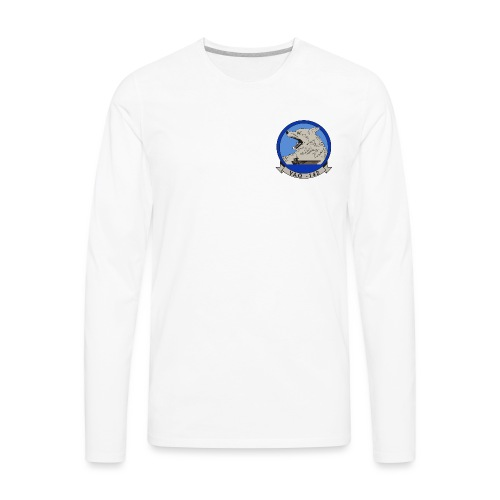 VAQ 142 CREST png - Men's Premium Long Sleeve T-Shirt