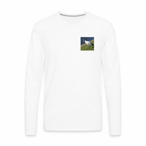 Ibis ciggie - Men's Premium Long Sleeve T-Shirt