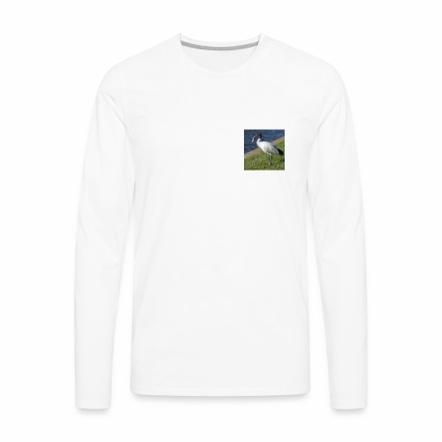 Ibis ciggie - Men's Premium Long Sleeve T-Shirt