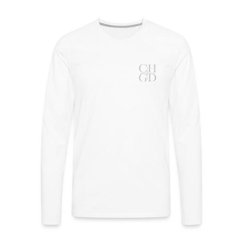 CHGD SQUARE - Men's Premium Long Sleeve T-Shirt