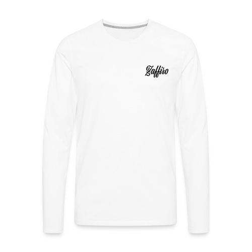 Zaffiro Co. Script Long Sleeve - Men's Premium Long Sleeve T-Shirt