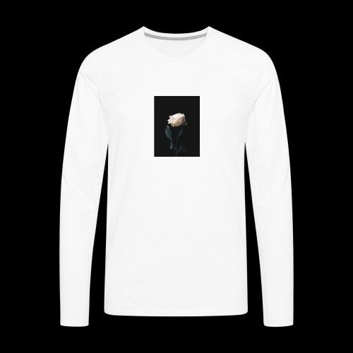 Winter Rose - Men's Premium Long Sleeve T-Shirt