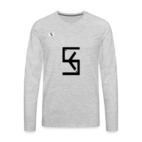 Soft Kore Logo Black - Men's Premium Long Sleeve T-Shirt