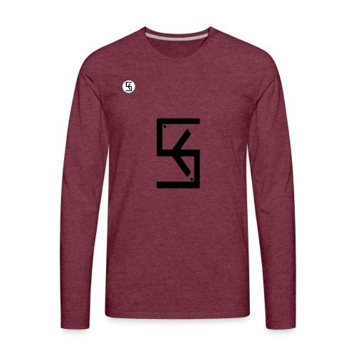 Soft Kore Logo Black - Men's Premium Long Sleeve T-Shirt