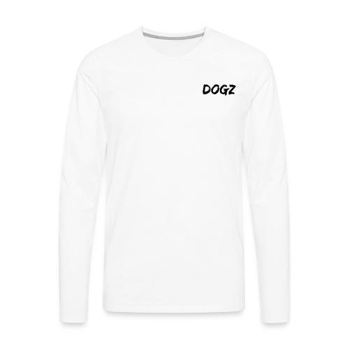 Dogz logo - Men's Premium Long Sleeve T-Shirt