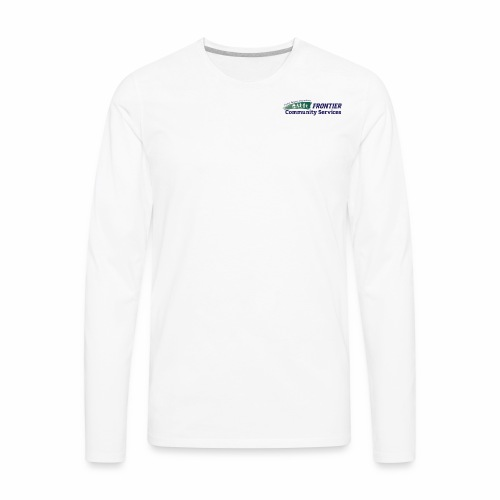 Frontier Logo - Full Color - Men's Premium Long Sleeve T-Shirt