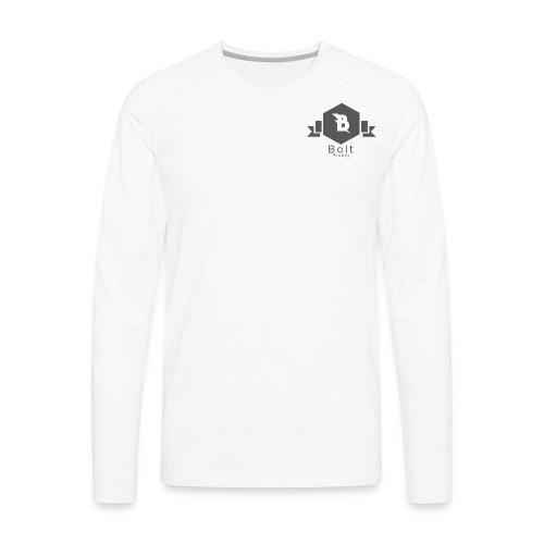 Bolt Rising Small Badge - Men's Premium Long Sleeve T-Shirt