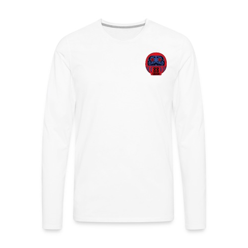SOGKOM DARUMA HEAD - Men's Premium Long Sleeve T-Shirt