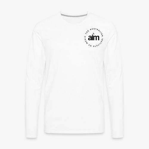 Australian Institute of Music - Men's Premium Long Sleeve T-Shirt