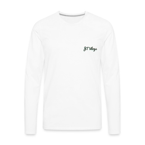 JT Vlogs - Men's Premium Long Sleeve T-Shirt