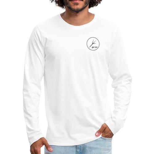 Black Circle - Men's Premium Long Sleeve T-Shirt