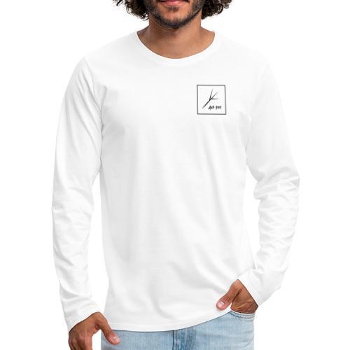Black Square - Men's Premium Long Sleeve T-Shirt