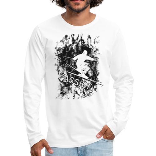Passion Winter Sport Skiing Schifahren 2reborn - Men's Premium Long Sleeve T-Shirt